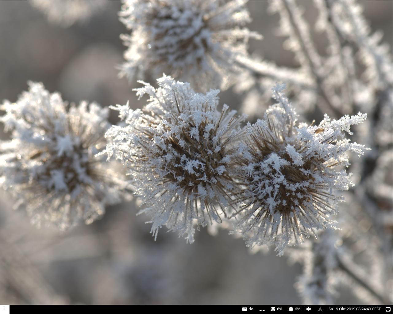 screenshot of Archi3 Linux